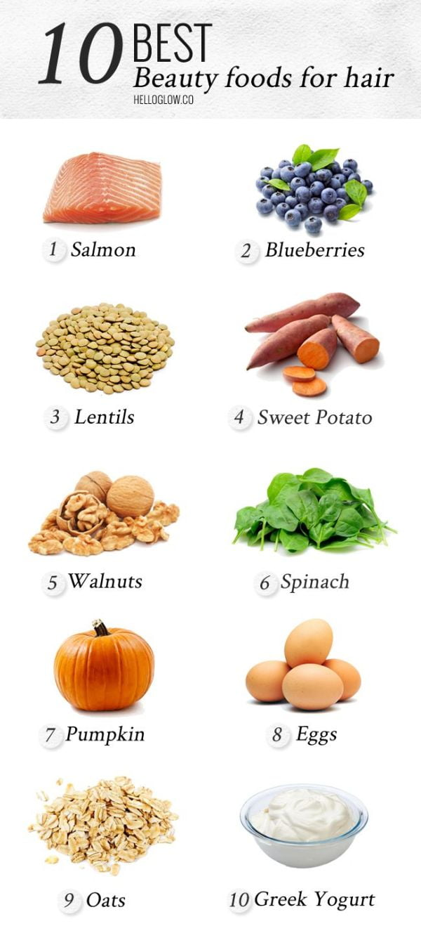 best foods for hair
