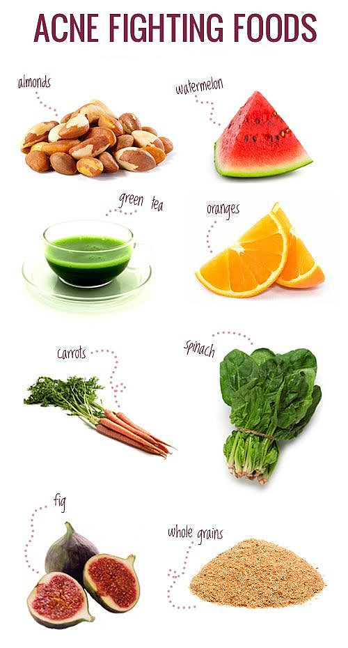 foods for pimples