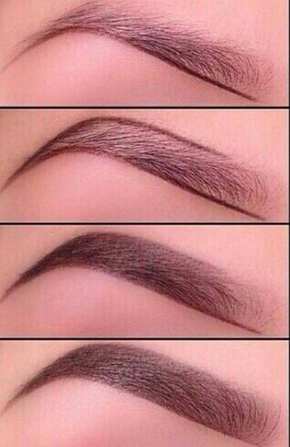 How to pencil on eyebrows