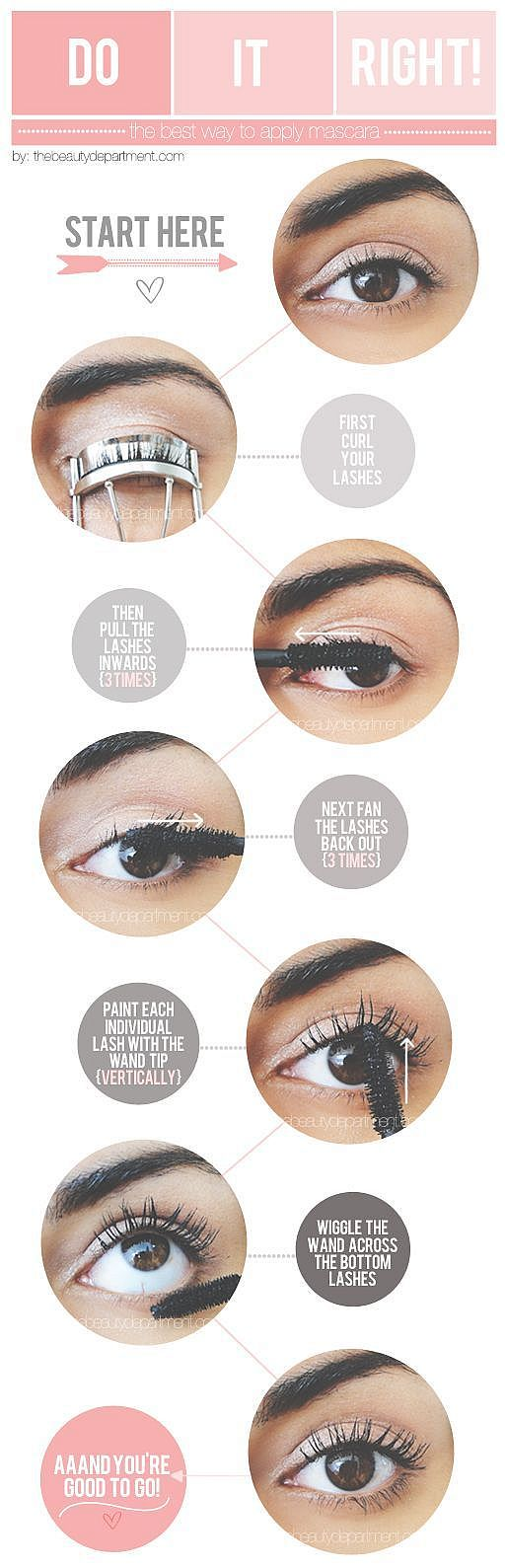 Apply Mascara Perfectly