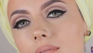 Black Beauty Lana Del Rey Look