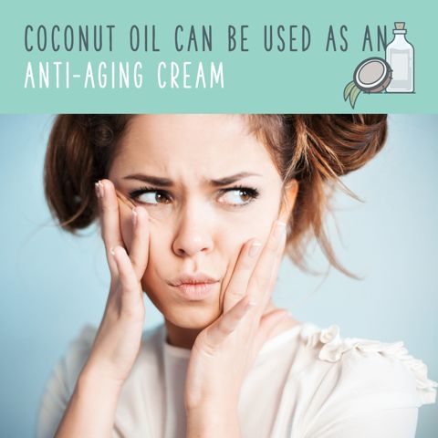 how to use coconut oil for face massage
