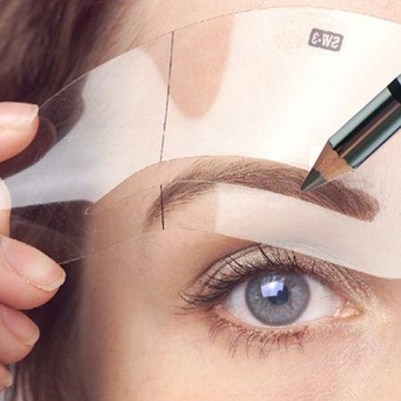 photograph relating to Printable Eyebrow Stencils known as An Evaluate of the Great Eyebrow Stencils Makers