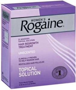 Rogaine eyebrow serum