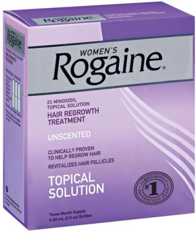 Rogaine eyebrow serum