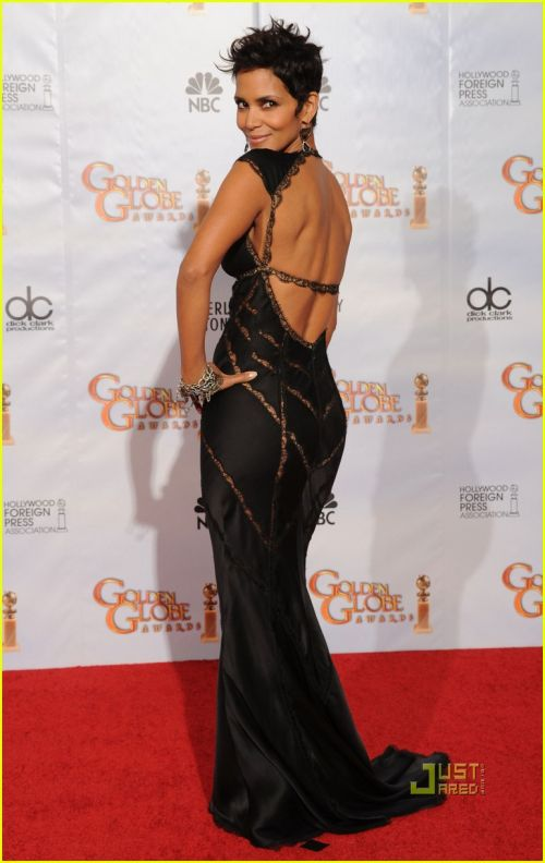 Actress Halle Berry poses in the press room at the 67th Annual Golden Globe Awards held at The Beverly Hilton Hotel on January 17, 2010 in Beverly Hills, California. 67th Annual Golden Globe Awards - Press Room Los Angeles, CA United States January 17, 2010 Photo by Kevin Winter/Getty Images North America To license this image (17117502), contact WireImage.com