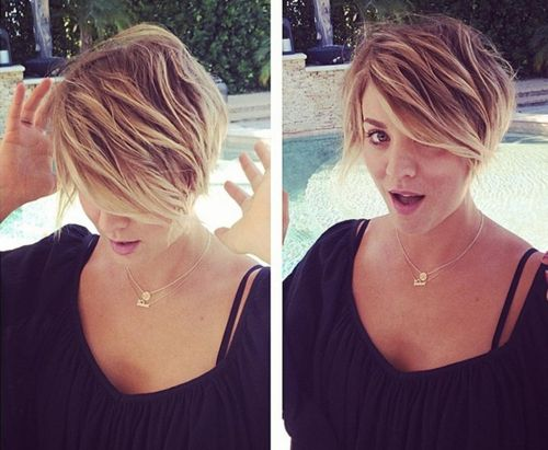 Kaley Cuoco Hairstyles 21
