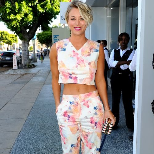 kaley cuoco haircut