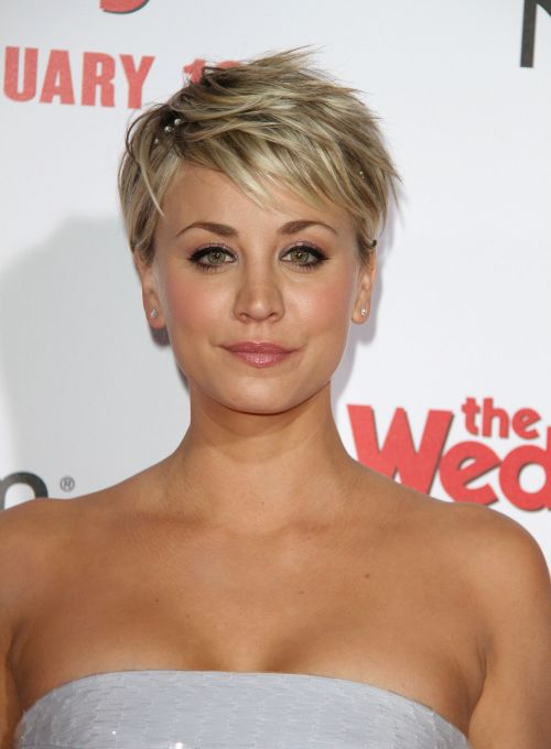Pleasant Kaley Cuoco Hairstyles Amp Haircuts Short Pixie Bangs Amp Updos Short Hairstyles For Black Women Fulllsitofus