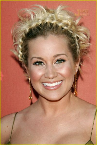 Kellie Pickler in braid hairstyle