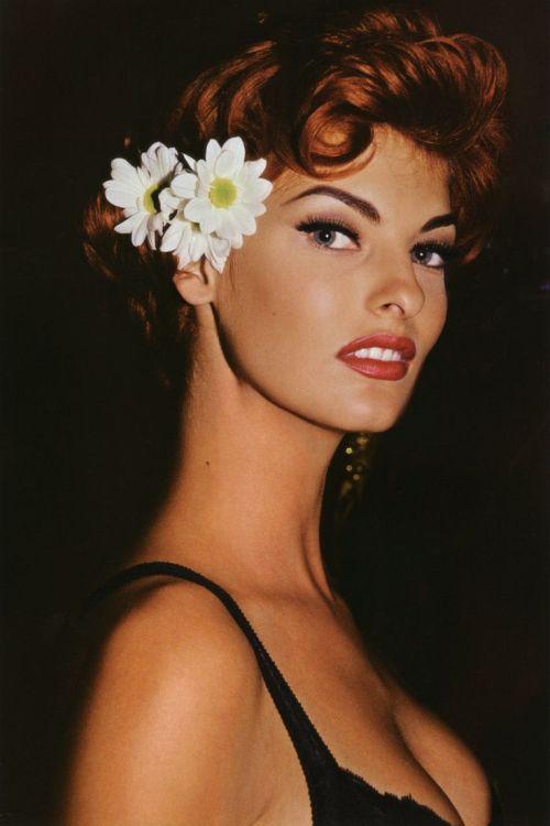 Linda Evangelista hairstyles (1)