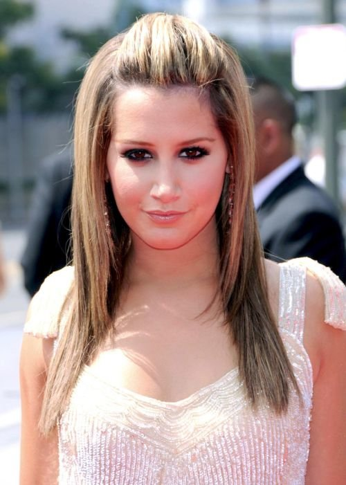 Ashley Tisdale 60th Primetime Creative Arts Emmy Awards at the Nokia Theatre - arrivals Los Angeles, California - 13.09.08 **Only available for publication in the UK, USA, Austria and Switzerland. Not available for the rest of the world** Mandatory Credit: WENN