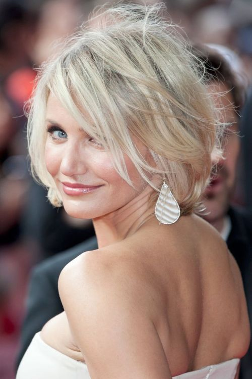 Stupendous Cameron Diaz39S Inspiring Hairstyles For Women With Fine Hair Hairstyles For Men Maxibearus