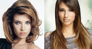 feather cut hairstyle