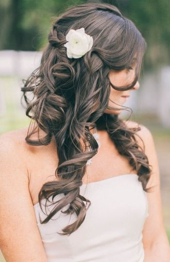 Incredible 37 Half Up Half Down Wedding Hairstyles Anyone Would Love Short Hairstyles For Black Women Fulllsitofus