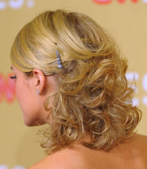 Carrie Underwood's hairstyle
