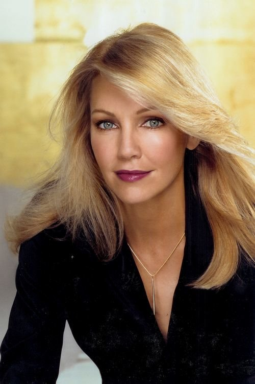Heather Locklear Hairstyles Layers Dos Loose Buns Casual