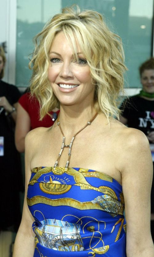 Heather Locklear Hairstyles: Layers Dos Loose Buns &amp Casual - Bob Hairstyles For Fine Hair