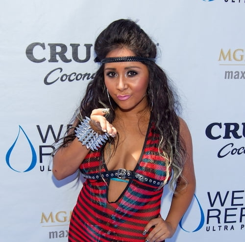 "Snooki Nicole ""Snooki"" Polizzi hosts at Wet Republic Ultra Pool at MGM Grand Las Vegas Las Vegas - 20.08.11 Mandatory Credit: Judy Eddy/WENN.com"