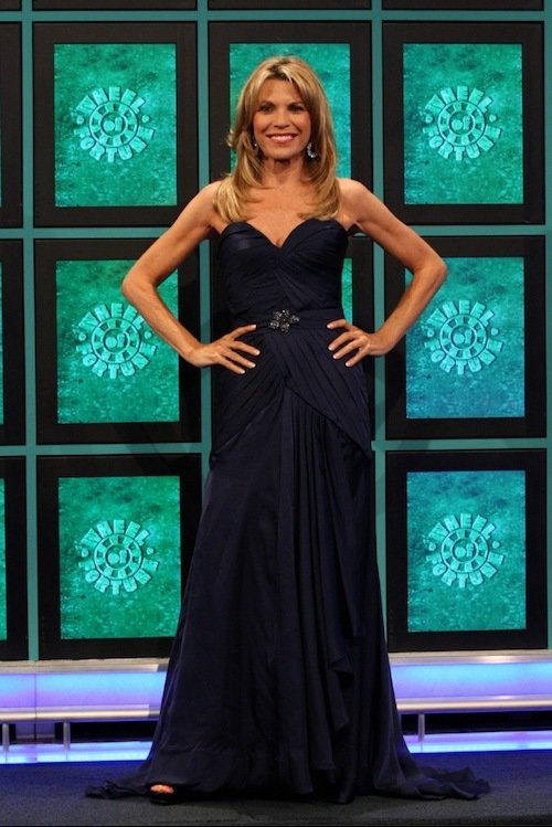 vanna white wheel of fortune