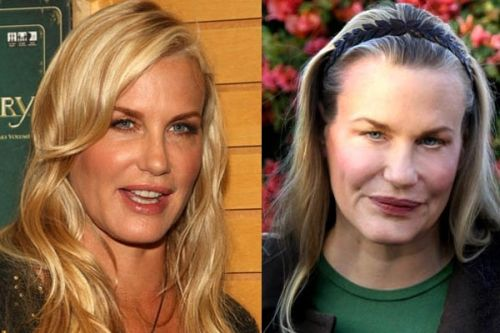 Distorted celebrity pictures