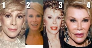 Joan Rivers plastic surgery obsession