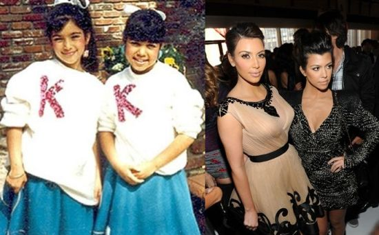 Kim and Kourtney Kardshian