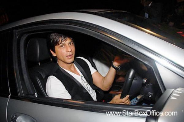 Shah Rukh Khan's Car - BMW 7 Series