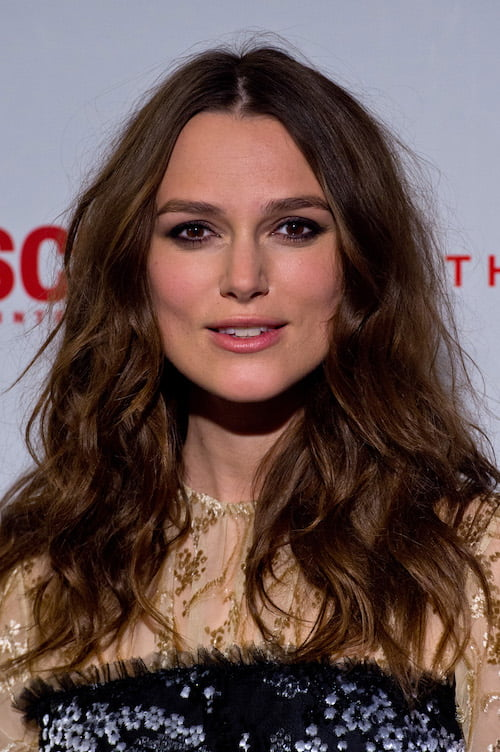 messy waves keira knightley