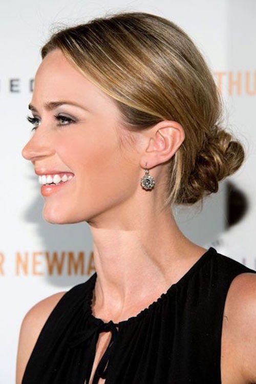 pumped up chignon emily blunt