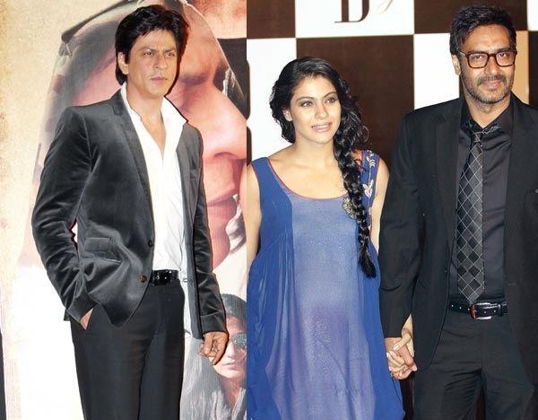 Ajay Devgan and Shahrukh Khan