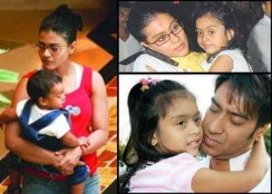 Ajay Devgan's family photos