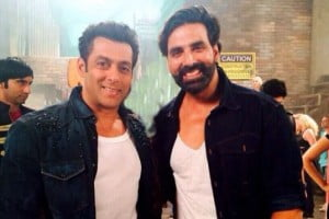 Akshay Kumar and Salman Khan