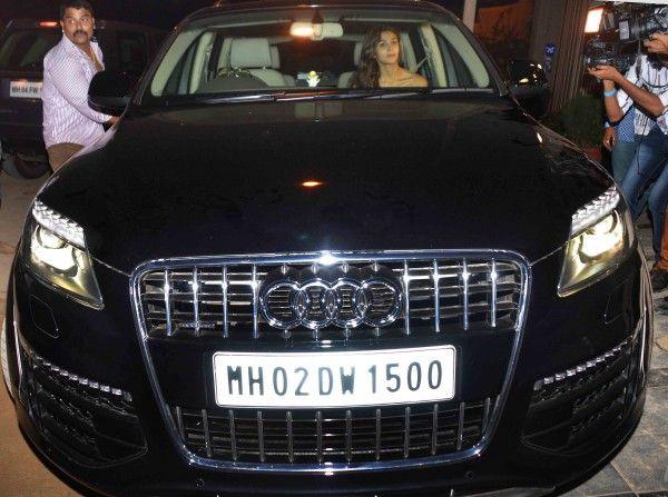Alia Bhat's car - Audi Q5