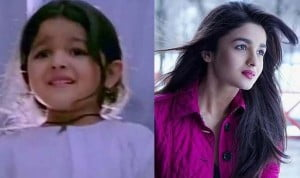 Alia Bhat young