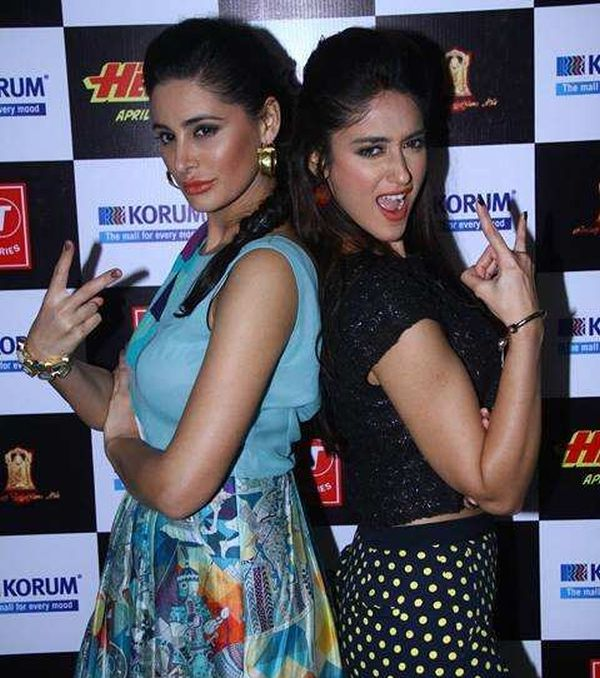 Nargis Fakhri and Ileana D'cruz