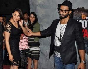 Ranveer Singh & Sonakshi Sinha