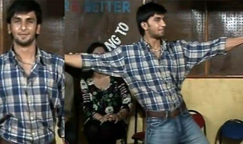 Ranveer Singh before bollywood actor