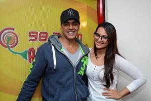 Sonakshi Sinha and Akshay Kumar