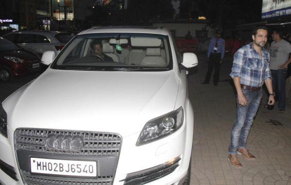 Emraan Hashmi with his car - Audi Q7