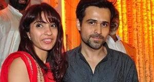 Emraan Hashmi and his Wife Parveen Shahani