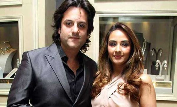 Fardeen Khan and his wife Natasha Madhvani