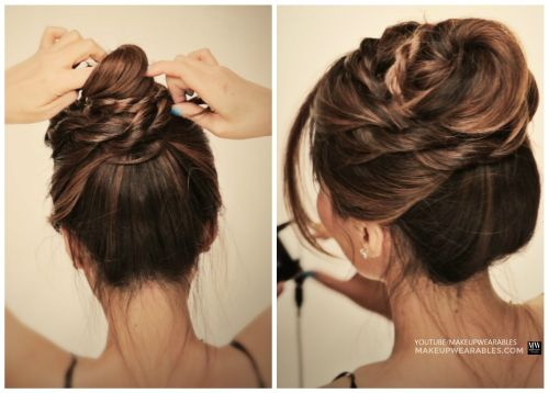 54 Cute Amp Easy Updos For Long Hair When You Re In Hurry