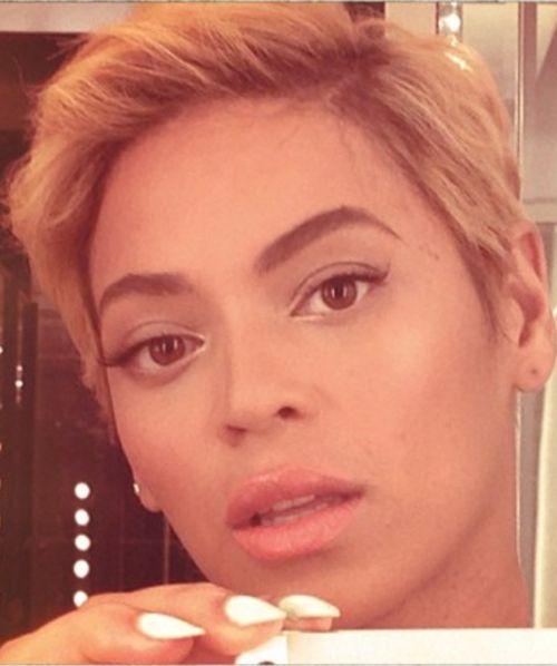 Beyonce pixie haircut