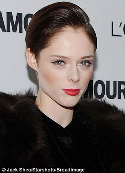 Coco Rocha boy cut