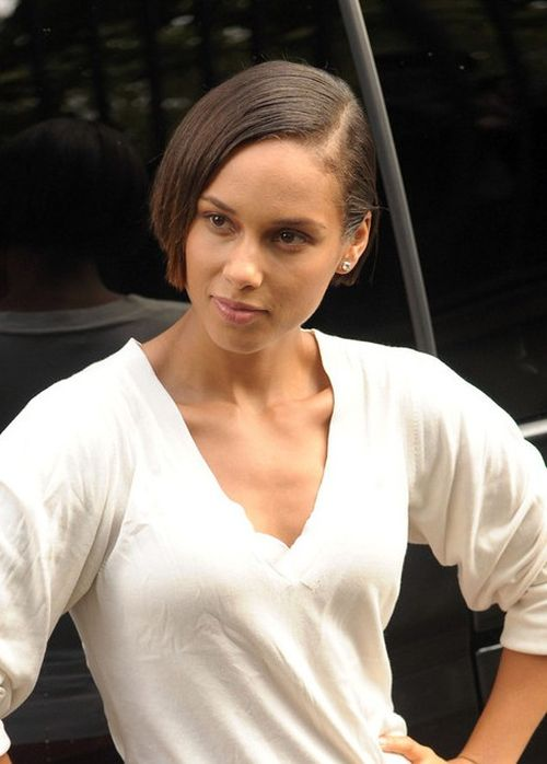 Alicia Keys Short Hairstyles