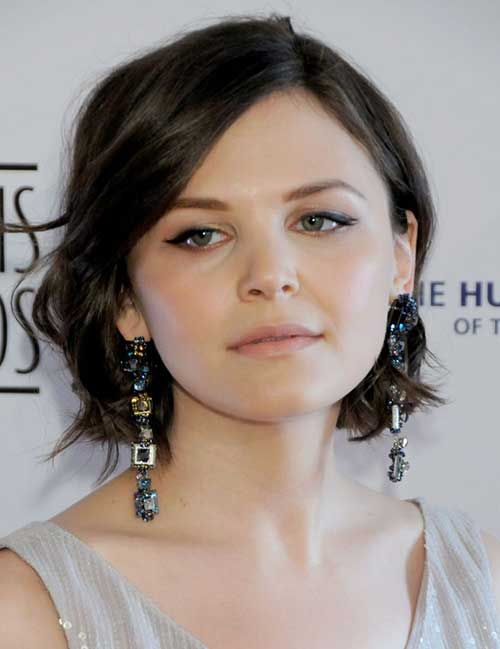 Ginnifer Goodwin short hair