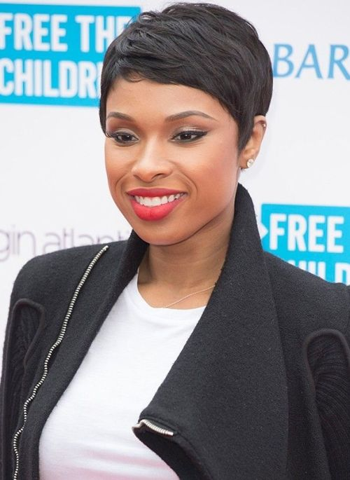 Jennifer Hudson short hair 2016