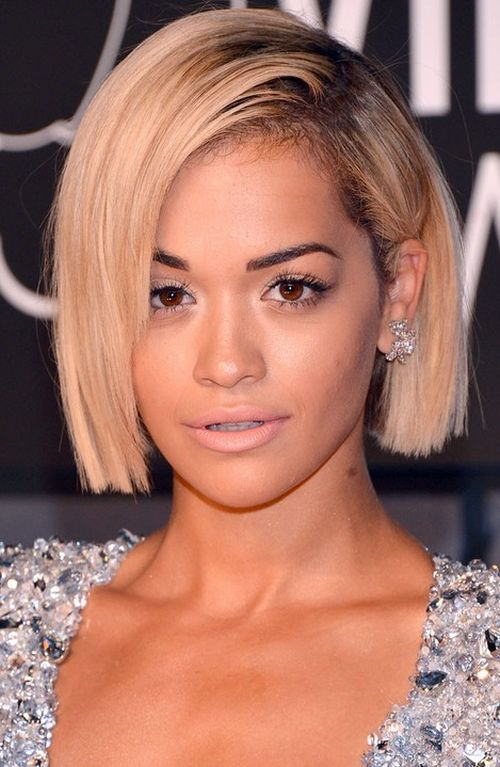 Rita Ora short hair