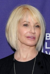 Short Straight Bob Hairstyle for women over 50